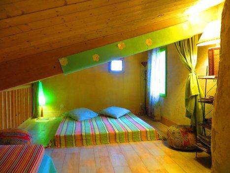 Mezzanine - espace détente avec 4 couchages