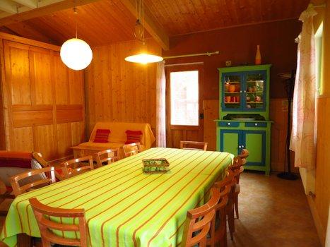 Pièce de vie - espace salle à manger